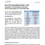 HILLTOP HOLDINGS (HTH) READ MORE